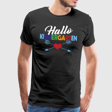 Hello kindergarten - Men's Premium T-Shirt