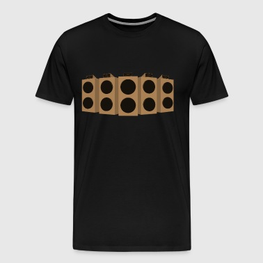 sound system - Men's Premium T-Shirt