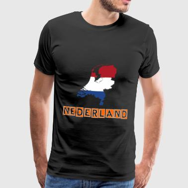 Nederland - Netherlands - Men's Premium T-Shirt