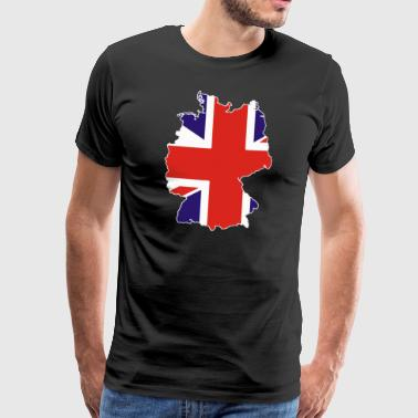 Britons in Germany Britons Germany Emigration - Men's Premium T-Shirt