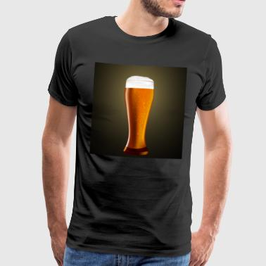 Beer glass - Men's Premium T-Shirt