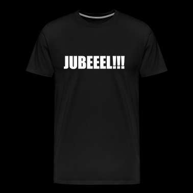 FUNNY JUBLE FOOTBALL MUNICH BAVARIA FRANCK FAN - Men's Premium T-Shirt