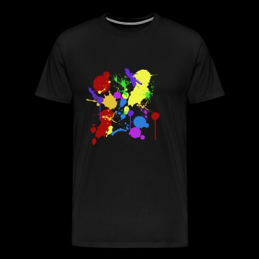 color spots - Men's Premium T-Shirt