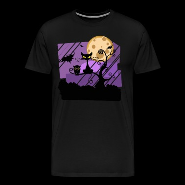 Halloween night - Men's Premium T-Shirt