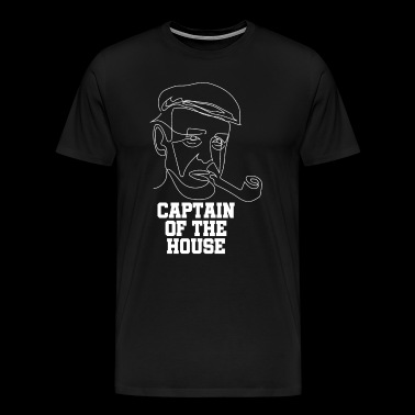 Captain of the House - Männer Premium T-Shirt