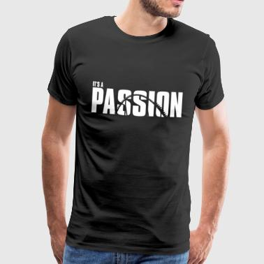 It `sa PASSION - Premium T-skjorte for menn