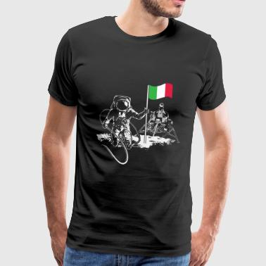 Italy moon landing - Men's Premium T-Shirt