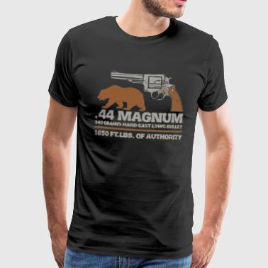 44 Magnum big bore hunting revolver - Men's Premium T-Shirt