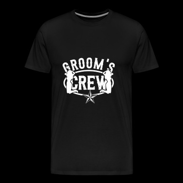 Groom crew - Men's Premium T-Shirt