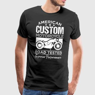American Custom Motorcycle Road Test - Premium T-skjorte for menn