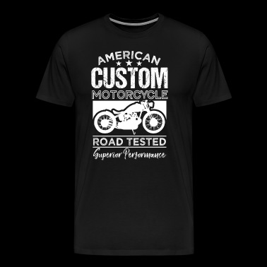 American Custom Motorcycle Road Test - Men's Premium T-Shirt