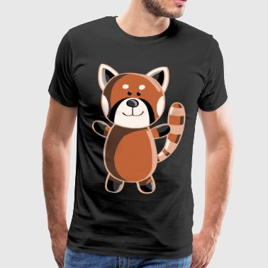 Sweet Red Panda - Pandas animals - Men's Premium T-Shirt