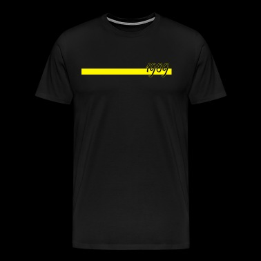 1909 with yellow bar - Men's Premium T-Shirt