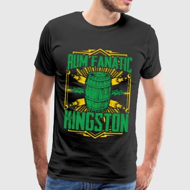 T-shirt Rum Fanatique - Kingston, Jamaïque - T-shirt Premium Homme