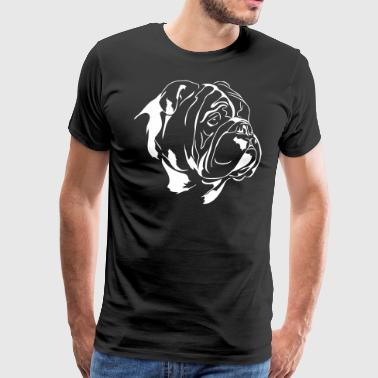 ENGLISH BULLDOG - ENGLISH BULLDOG - Men's Premium T-Shirt