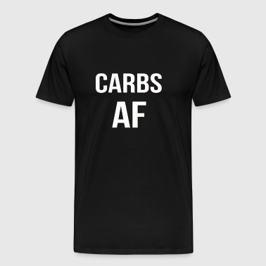 carbs af - Men's Premium T-Shirt