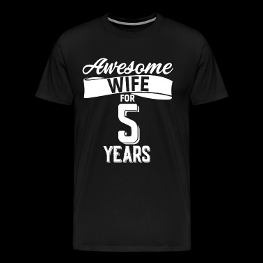 Wife's wedding day - Men's Premium T-Shirt