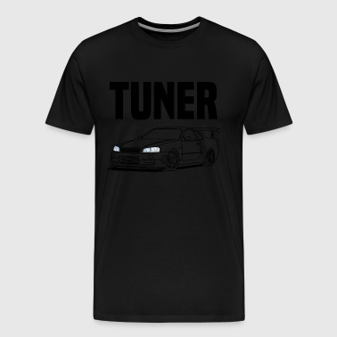 Tuner Car - Men's Premium T-Shirt