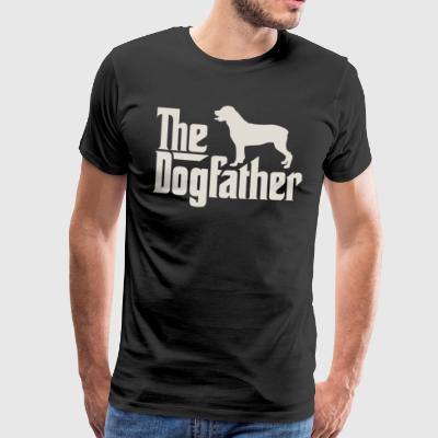 The Dogfather - Rottweiler - Men's Premium T-Shirt