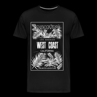West Coast to discover for every day - Men's Premium T-Shirt