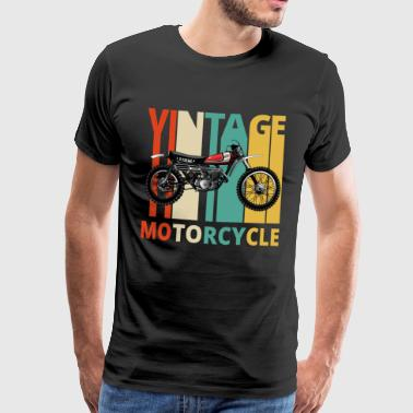 Vintage Motorcycle Gifts for the wild. Dirt Bike - Men's Premium T-Shirt