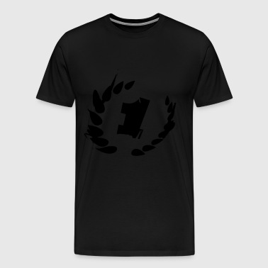 Number one - winner - first place - Men's Premium T-Shirt