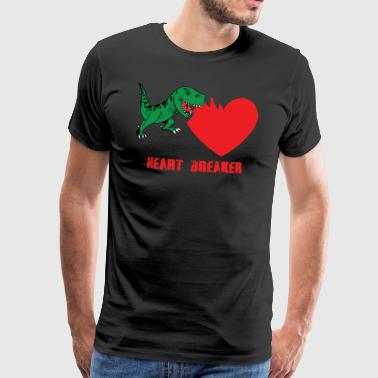 Heartbreaker - T-REX - Men's Premium T-Shirt
