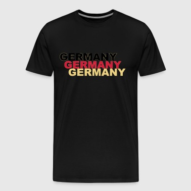 germany germany football - Men's Premium T-Shirt