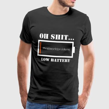 Low Battery - Männer Premium T-Shirt