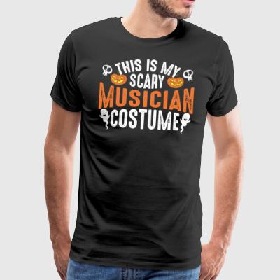 This Is My Scary Musician Costume - Männer Premium T-Shirt