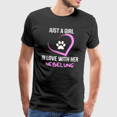 just a girl in love with her foggy shirt - Men's Premium T-Shirt