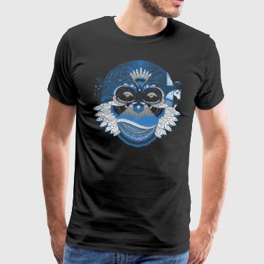 Indian gorilla head - Men's Premium T-Shirt