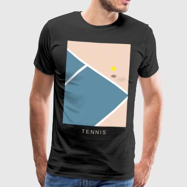 Tennis Art - Men's Premium T-Shirt