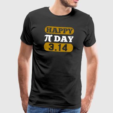 Happy Pi Day 3.14 - Men's Premium T-Shirt