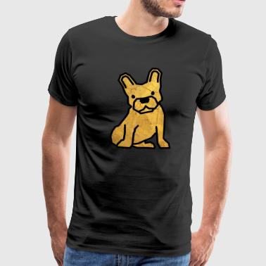 Bully - Golddesign - Männer Premium T-Shirt