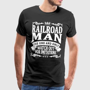 railroad man the one and only - Men's Premium T-Shirt