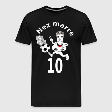 Nez marre football humour FS - T-shirt Premium Homme