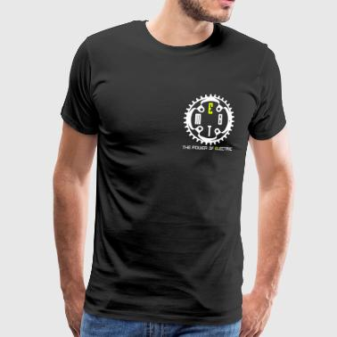 EMTB - THE POWER OF ELECTRIC - Men's Premium T-Shirt