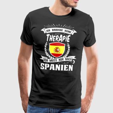 I do not need therapy Spain - Men's Premium T-Shirt