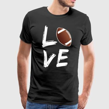 Football Love - Men's Premium T-Shirt