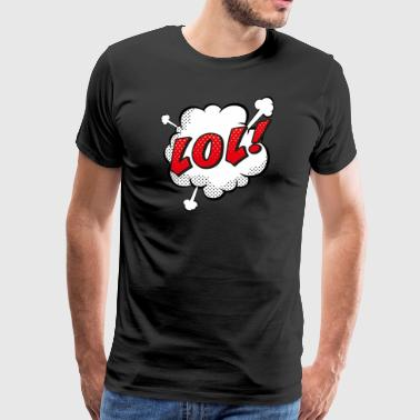 Pop Art 06 - Premium T-skjorte for menn