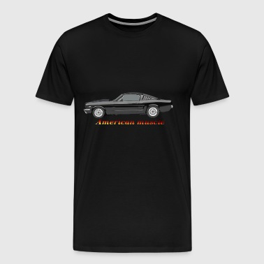 American muscle car - Men's Premium T-Shirt
