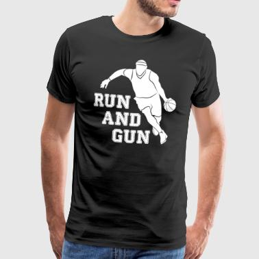 RUN - Herre premium T-shirt