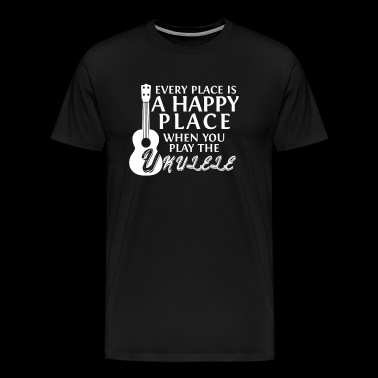 Gift for ukulele players - Men's Premium T-Shirt
