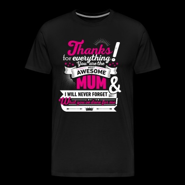 Mothering Day! Motherday! Mother's day! - Men's Premium T-Shirt