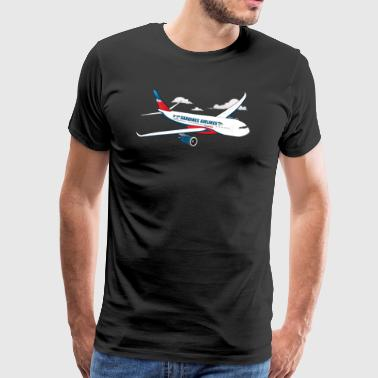 Sardines Airlines - Men's Premium T-Shirt