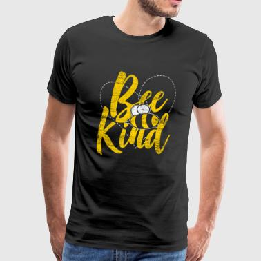 Be Kind Bee Bee Honey Beekeeper Gift - Maglietta Premium da uomo