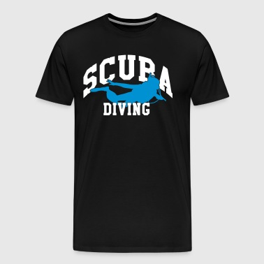 Scuba diving - Männer Premium T-Shirt