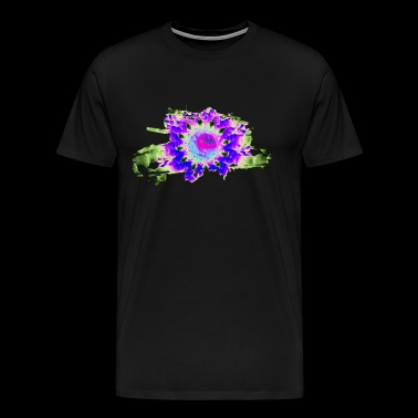 cellular eye two popart - Herre premium T-shirt