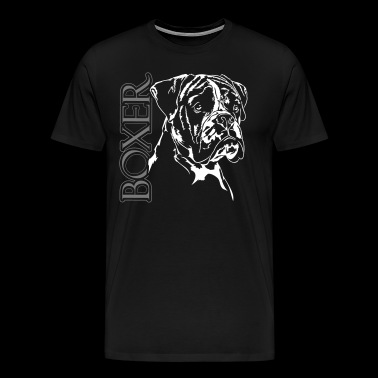 BOXER PORTRAIT II - Men's Premium T-Shirt
